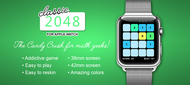 2048 for Apple Watch