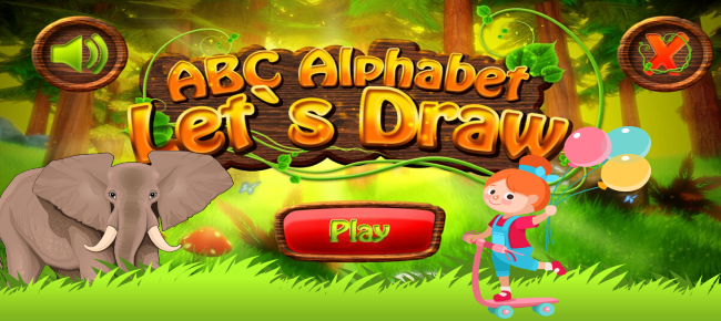ABC Alphabet Learning For Kids-Admob