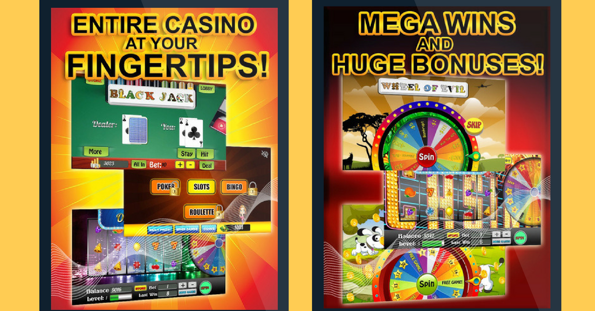 mega casino mobile