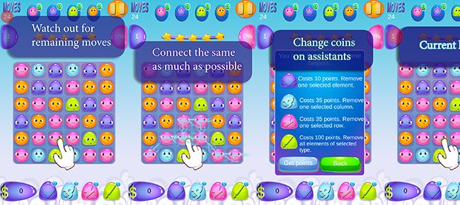 Candy Crush Game Template