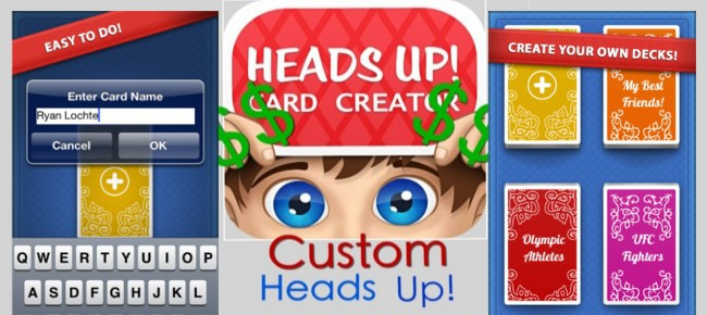 Charades Custom Card Creator (Heads Up) License