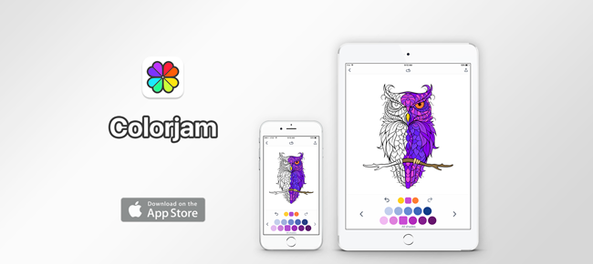 Colorjam: Coloring pages for adults and kids
