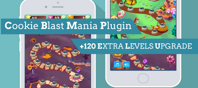 Cookie Blast Mania Plugin (+120 Extra Levels)