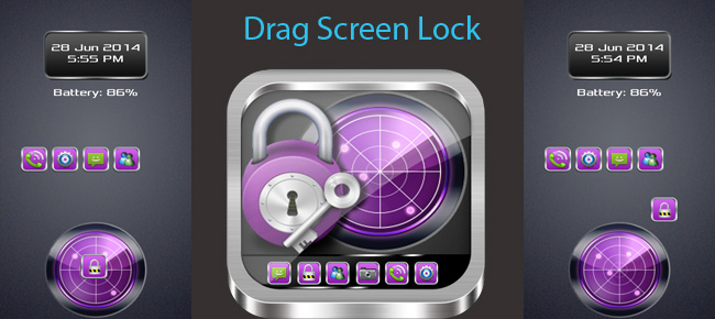 Drag Screen Lock with AdMob, StartApp and LeadBolt