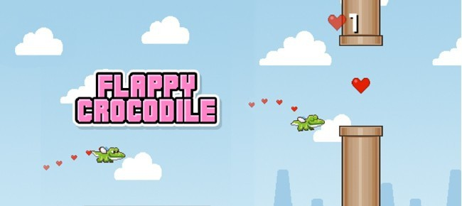 Flappy Crocodile Source Code iOS - Easiest Reskin