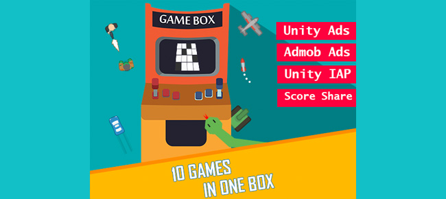 GameBox - 10 Games