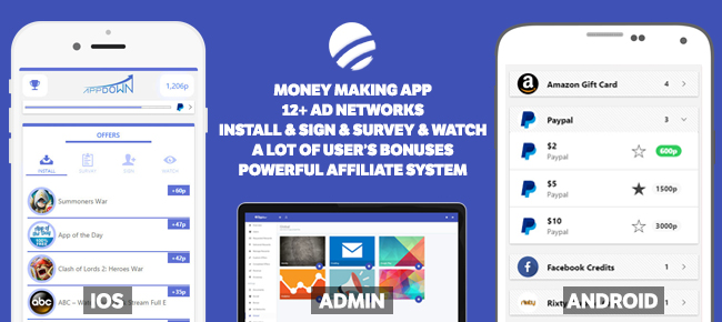 Offito - Money Making App for iOS