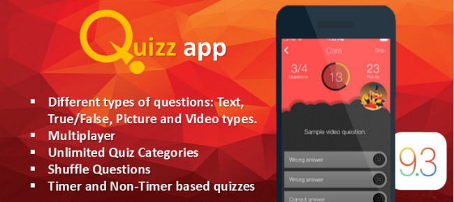 Quiz App Starter Kit - All In One iOS Template