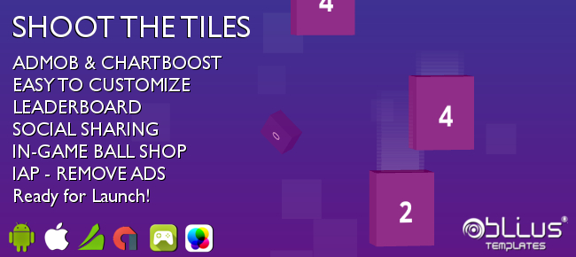 Shoot The Tiles - iOS / Android