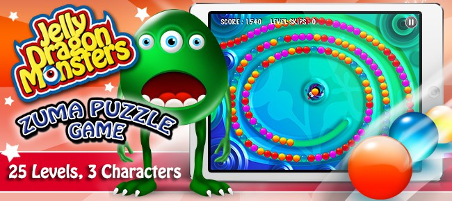 Super Zuma Marble Game - 25 Level Puzzle Shooting