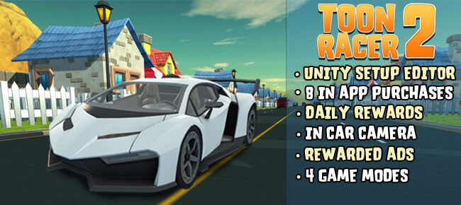 Toon Racer 2: 3D First Person Racing