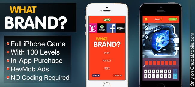 1 Code UNLIMITED Apps - Full iPhone App What Brand