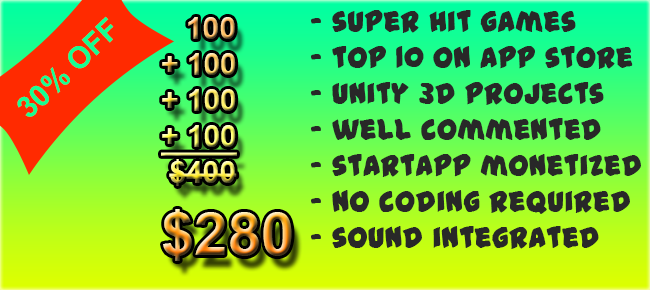 4 Great Unity Games