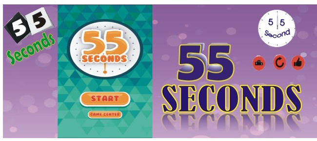55 Seconds Puzzle Game - Can you Get 55 ?