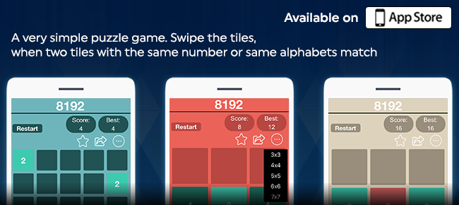 8192 Number Puzzle – Feature Riched Fun Puzzle G