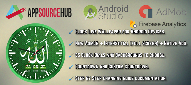 Android Clock Live Wallpaper