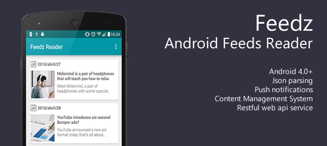 Android Feeds Reader App