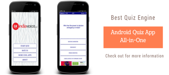 Android Quiz App - All in One