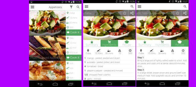 Buy android recipe app with admob fooddrink and healthfitness android recipe app with admob forumfinder Gallery