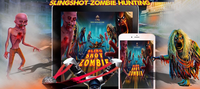 Angry Sling Shot Zombie