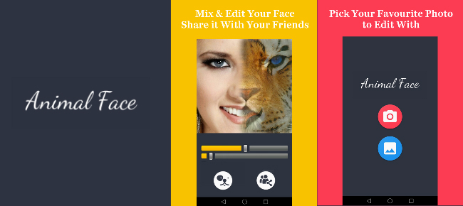 Animal Face Morphing with Admob