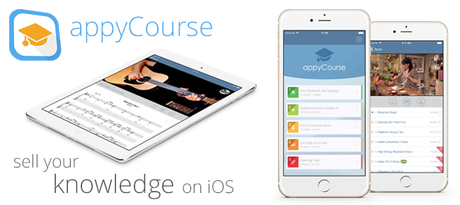 appyCourse - Video Course Lessons Template