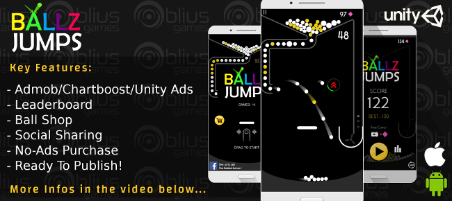 Ballz Jumps - iOS/Android