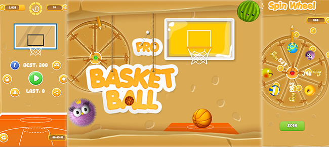 Basket Ball Pro (Ready to Launch)