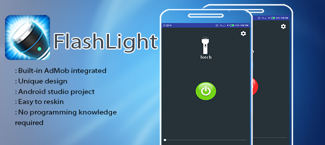 Best Flashlight for android with admob