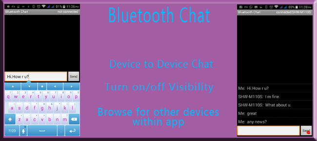 Bluetooth Chat Application