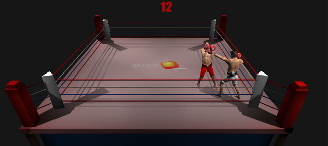 Boxe multiplayer game