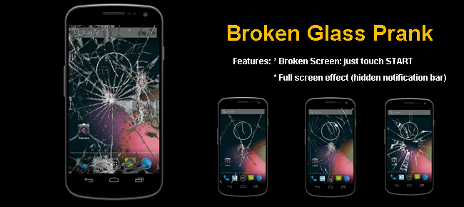 Broken Screen Prank icon Broken Screen Prank