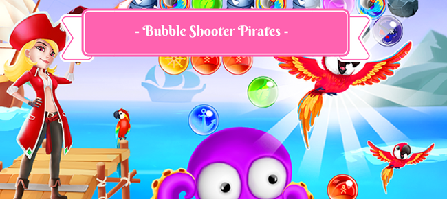 Bubble Shooter Pirates