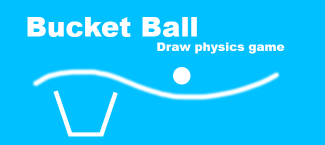 Bucket Ball Draw physics Game