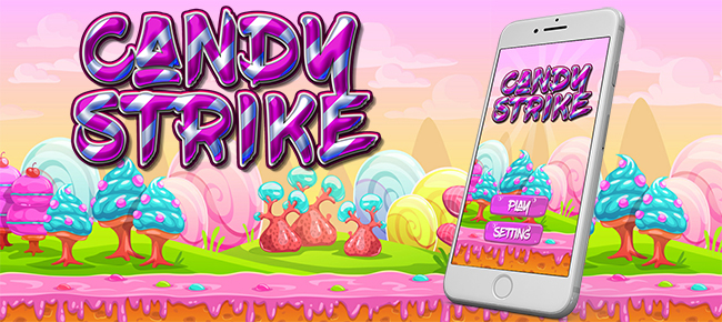 Candy Strike Game Template With Admob Banner and I