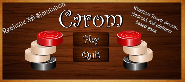 Carom Unity3D Game Source Code
