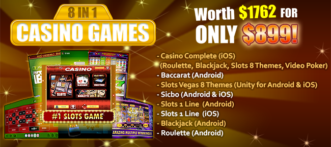 Casino 8 in 1 Game - Worth $1762 only for $899