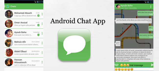 Non dating chat app android