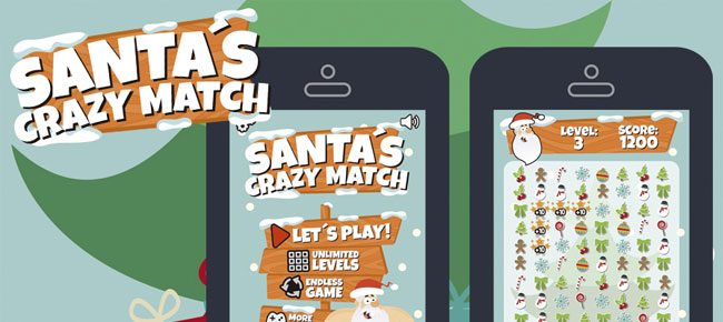 Christmas Match 3 Style Game Assets -