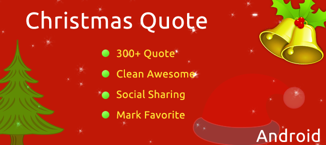 Christmas Quote Android App