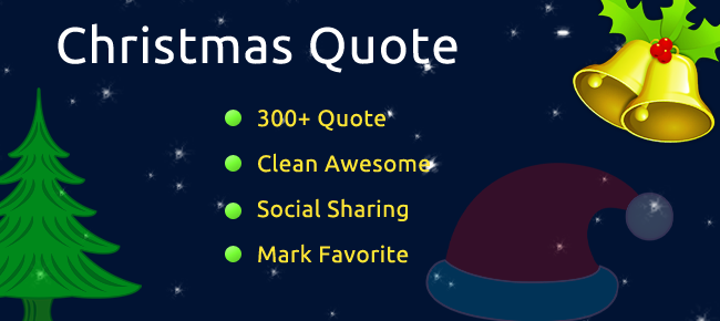 Christmas Quote iPhone App