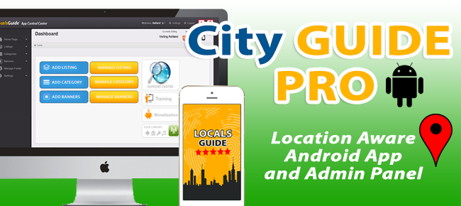 City Guide PRO - Location Aware - Android App