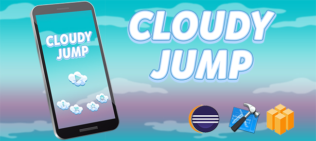 Cloudy Jump Game Template Android iOS Buildbox