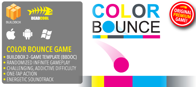 Color Boun - BuildBox 2 Game Template Document iOS