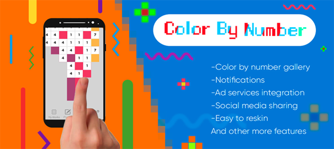 Color By Number – Pixel Art