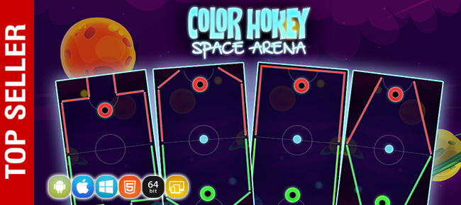 Color Hockey Space Arena