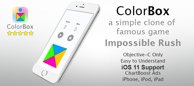 ColorBox - Impossible Rush Style Game
