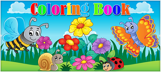 Coloring Book Unity3D Project