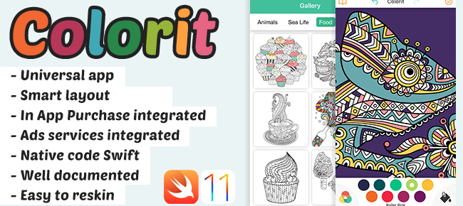 Colorit - Relaxing Coloringbook For Adults
