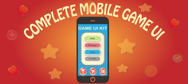 Complete Mobile Game UI Kit